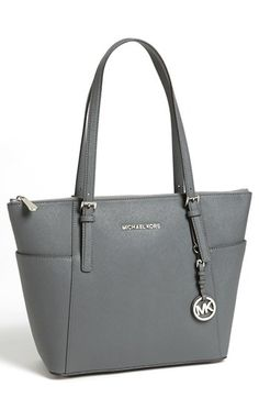 MICHAEL Michael Kors 'Jet Set' Leather Tote | Nordstrom-