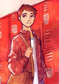 Tadashi in art style, he looks he's 13 or 14. WHO AGREES!