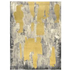 Pottery Barn Grey with Gold Leaf Abstract Canvas ($463) ❤ liked on Polyvore featuring home, home decor, wall art, canvas home decor, textured wall art, abstract canvas wall art, canvas wall art and abstract home decor