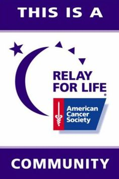 American Cancer Society Relay For Life. Please join a relay near you to fight cancer. Learn more about Relay For Life in 52 Days The Cancer Journal.