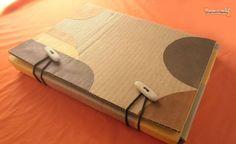 Como hacer una carpeta de cartón