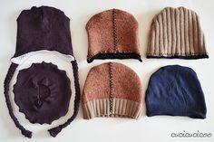 Cucire un cappello da un maglione vecchio