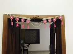 Toran door hanging diy idea