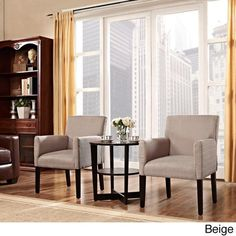 Chloe Arm Chairs (Set of 2) Living Room Seat Furniture Accent Home Chair #Modway