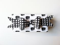 Elephant Screen Printed Gift Wrap // Set of by KateZarembaCompany
