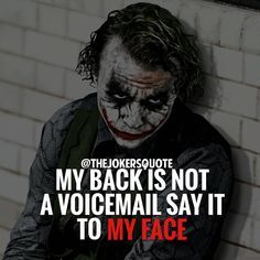 Most memorable quotes from Joker, a movie based on film. Find important Joker Quotes from film. Joker Quotes about who is the joker and why batman kill joker. Joker Qoutes, Joker Frases, Best Joker Quotes, Badass Quotes, Quotes About Attitude, Swag Quotes, True Quotes, Quotes On Wisdom, Quotes On Haters