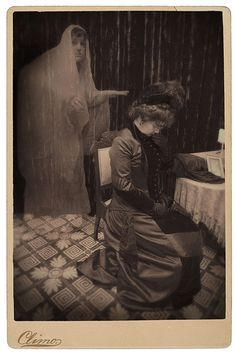 Victorian Ghost Photography   Festive Attyre: ghostly photography