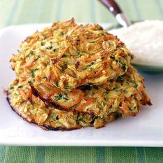 Rösti mit Zucchini und Karotten Rezepte | Weight Watchers