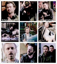 """Chuck Shurley GIFset - I forgot all about """"Do I have a molar in my hair?"""" LOL!"""