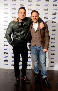 Olly and Robbie Williams :)