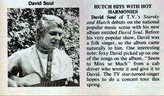 David Soul - Teen Beat - May, 1977