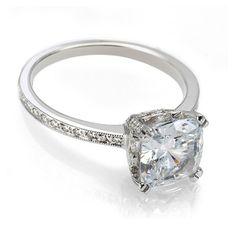 Vintage Engagement Rings | Cushion Cut Diamonds | Catherine Angiel - Catherine Angiel