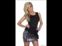 ▶ Vestido elegante negro plata. ¡Me sienta muy bien! Ropa en España - YouTube https://www.facebook.com/xeitosomoda