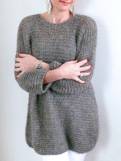 Joli pull en laine légèrement oversize