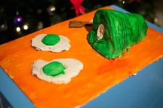 This is Green Eggs and Ham, an entry in the youth division by Esme Powers.