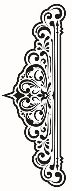 красивые орнаменты Stencil Patterns, Stencil Designs, Pattern Art, Pattern Design, Stencils, Stencil Art, Machine Silhouette Portrait, Carving Designs, Sgraffito