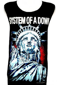 System of a Down Hardcore Rock Band Music Metal T Shirt Tank Top Singlet Vest Size M - 27 * 20 Inches
