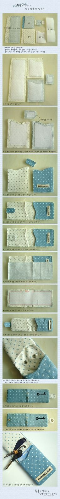 DIY Wallet! so cute!