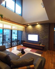 Home Living Room, Living Room Designs, Living Room Decor, Bedroom Decor, Modern Interior, Home Interior Design, Interior And Exterior, Backyard Furniture, Second Floor