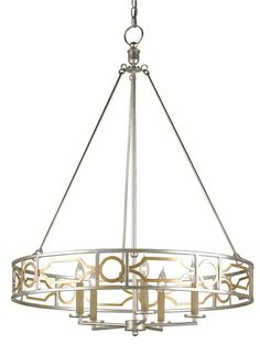 View the Currey and Company 9301 Fairchild 5 Light 1 Tier Chandelier at Build.com.