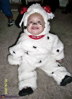 Dalmatian Puppy Baby Halloween Costume