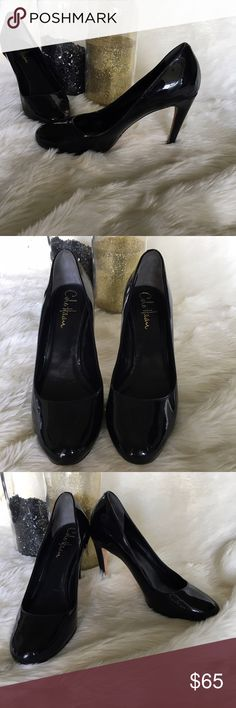 💄Cole Haan & Nike Air Patent Leather Pumps💄 3.5 Inch Heel Leather Upper  Gorgeous, comfortable as hell, black patent leather pumps by Cole Haan in collaboration with Nike Air. There's tiny white marks on the front but they're super hard to see and an easy fix. These shoes are extremely well crafted. As always, comment with any questions!! Cole Haan Shoes Heels