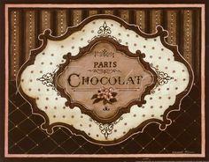 Chocolat Pósters por Kimberly Poloson - AllPosters.co.uk