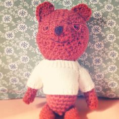 Friends for sale. Knitted toy.  Rusty.