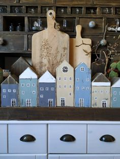I Love House, House In The Woods, Wood Crafts, Diy And Crafts, Small Wooden House, Timber House, Miniature Houses, Diy Garden Decor, Little Houses