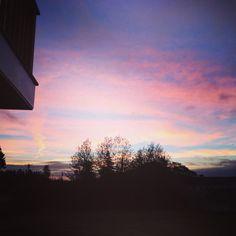 sunrise on coast of Maine