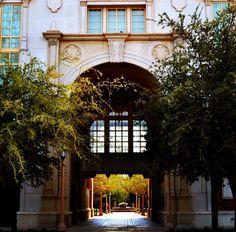 english building, texas tech. lubbock, texas.