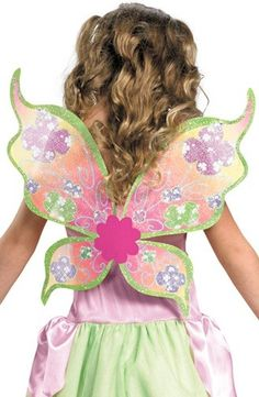 winx club best fairy | FLORA Winx Club Fairy Child Costume with wings Size: 4-6 Disguise ...