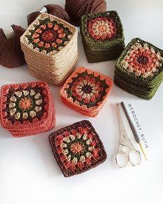 Transcendent Crochet a Solid Granny Square Ideas. Inconceivable Crochet a Solid Granny Square Ideas. Crochet Blocks, Granny Square Crochet Pattern, Crochet Squares, Crochet Granny, Crochet Motif, Crochet Stitches, Love Crochet, Crochet Baby, Knit Crochet
