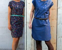 Ik zocht een heel gemakkelijk patroontje voor een katoenen jurk. Geen rits, plooitjes of andere tierlantijntjes. Veel mooie stofjes, weini...