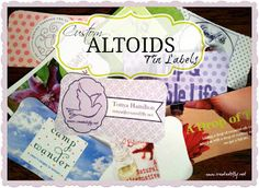 www.created2lfy.net: Custom labels for Altoids tins - for purchase