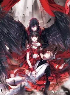 Read the manga in Russian Song of the Hell& Confession . - Read the manga in Russian Song of the Hell Confession (Poem of hell confession: Diyu gaobai shi) Ne - Anime Romance, Anime Demon, Romantic Anime, Manga Anime, Dark Anime, Anime Fantasy, Character Art, Manga Couple, Anime Drawings