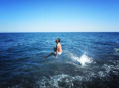 santorini, beach, summer in Greece, fashion blog