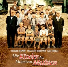 The Chorus (Les Choristes) - Directed by Christophe Barratier. With FranCois Berleand, Gerard Jugnot, Jean-Baptiste Maunier, Jean-Paul Bonnaire and Kad Merad. The Best Films, Great Movies, Popular Movies, Gerard Jugnot, Jacques Perrin, Film Mythique, Bon Film, Foreign Movies, French Movies
