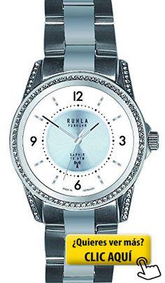 aeb61098ba8b by Ruhla Gardé radio reloj de pulsera para mujer...  reloj  mujer