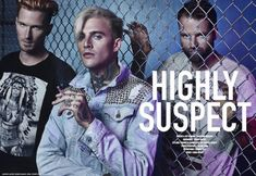 Grammy nominated Highly Suspect