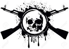 Tattoo Gun Stock Vector Illustration And Royalty Free Tattoo Gun ...