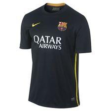 Nike FC Barcelona '13-'14 Youth Third Soccer Jersey (Black/Vibrant Yellow/University Red/Vibrant Yellow)
