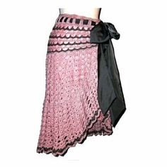 faldas largas a crochet | Faldas tejidas a crochet patrones - Imagui