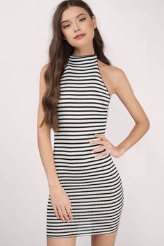 18+ Shirt Dress Black And White Striped Black And White Short Dresses, Black White, Striped Dress Outfit, Stripe Dress, Dress Up Games Online, Day Dresses, Casual Dresses, Black Bodycon Dress, Dress Black