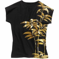 The Met Store -  Golden Bamboo Classic Fit Top $30 today only, in XL