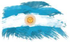 Imágenes y frases bonitas de Belgrano y la Bandera Argentina Argentina World Cup, Argentina Flag, Flags Of The World, Countries Of The World, All The Bright Places, Flag Painting, Flag Art, New Years Eve Party, South America