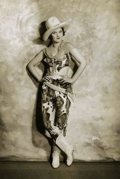 "Dancer from Ziegfeld's ""Whoopie"" Production"