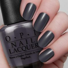 | OPI  Suzi Skis in the Pyrenees (blue-grey - creme)
