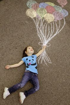 Photo idea for kids (or the high-spirited)