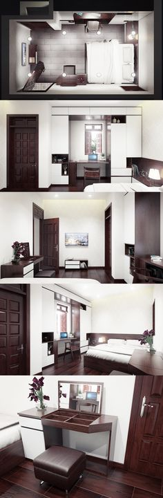 master bedroom_vray sketchup_photoshop